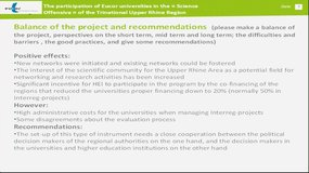 Cross-Campus - Workshop on research, innovation and on transfer of knowledge