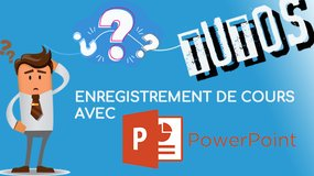 Tutoriel : ppt commenté avec POWERPOINT 2016 (Windows)