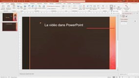 PowerPoint_24 Integrer une video