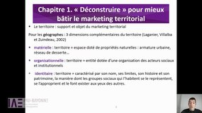 1.1. Le territoire : support et objet du marketing territorial