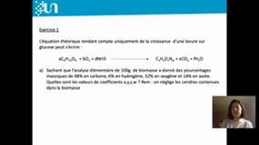 TD 6 microbiologie industrielle Exercice 1