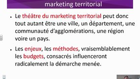 Le marketing territorial : plus qu'une adaptation, une hybridation