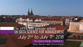 The UPPA/BAI Summer school on data Science for management